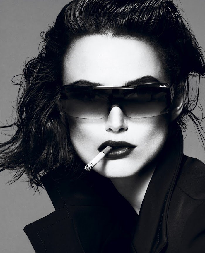 Keira Knightley by Mert Alas & Marcus Piggott for Interview April 2012, styled by Karl Templer