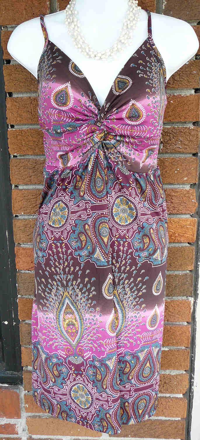 Thin Strap Lycra Dress