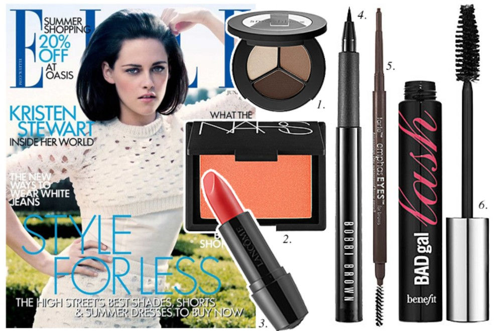 How To Get Kristen Stewart's June Elle Magazine Cover Look - Beauty High