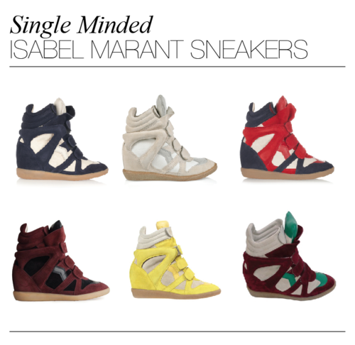 all the colors to LOVE: isabel marant sneaks