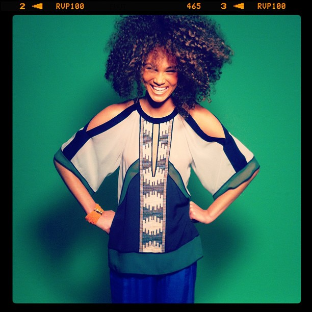 Behind the scenes on my BCBG x STYLECASTER photo shoot