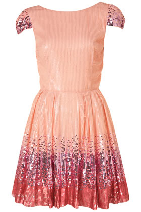 **Ombre Sequin Prom Dress By Dress Up Topshop - Dresses - Going Out - Colle
