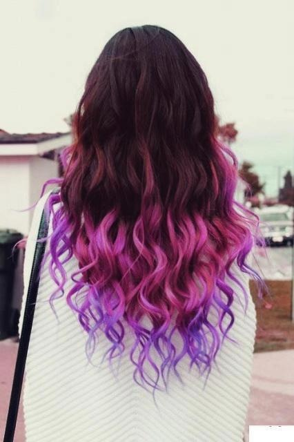 Pin By Reily Williamson On All Things DipDyed  Pinterest  Purple Hair Pur
