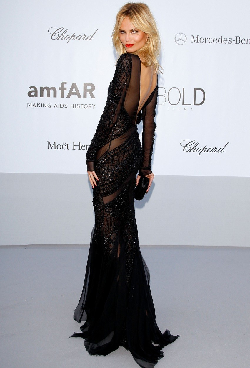 Natasha Poly at Cannes