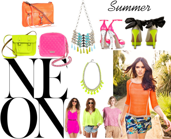 how to window shop: Neon Summer