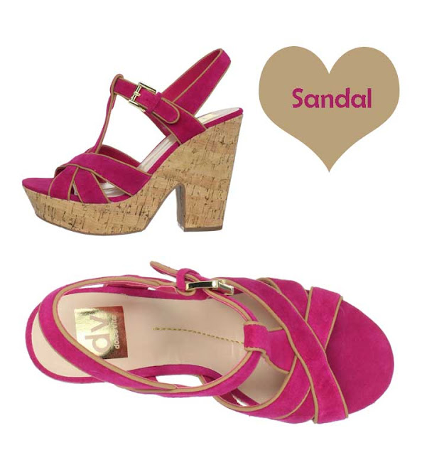 Impractically Pink Summer Sandals | In Dramatic Fashion