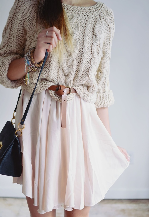 love a good summer chunky knit.