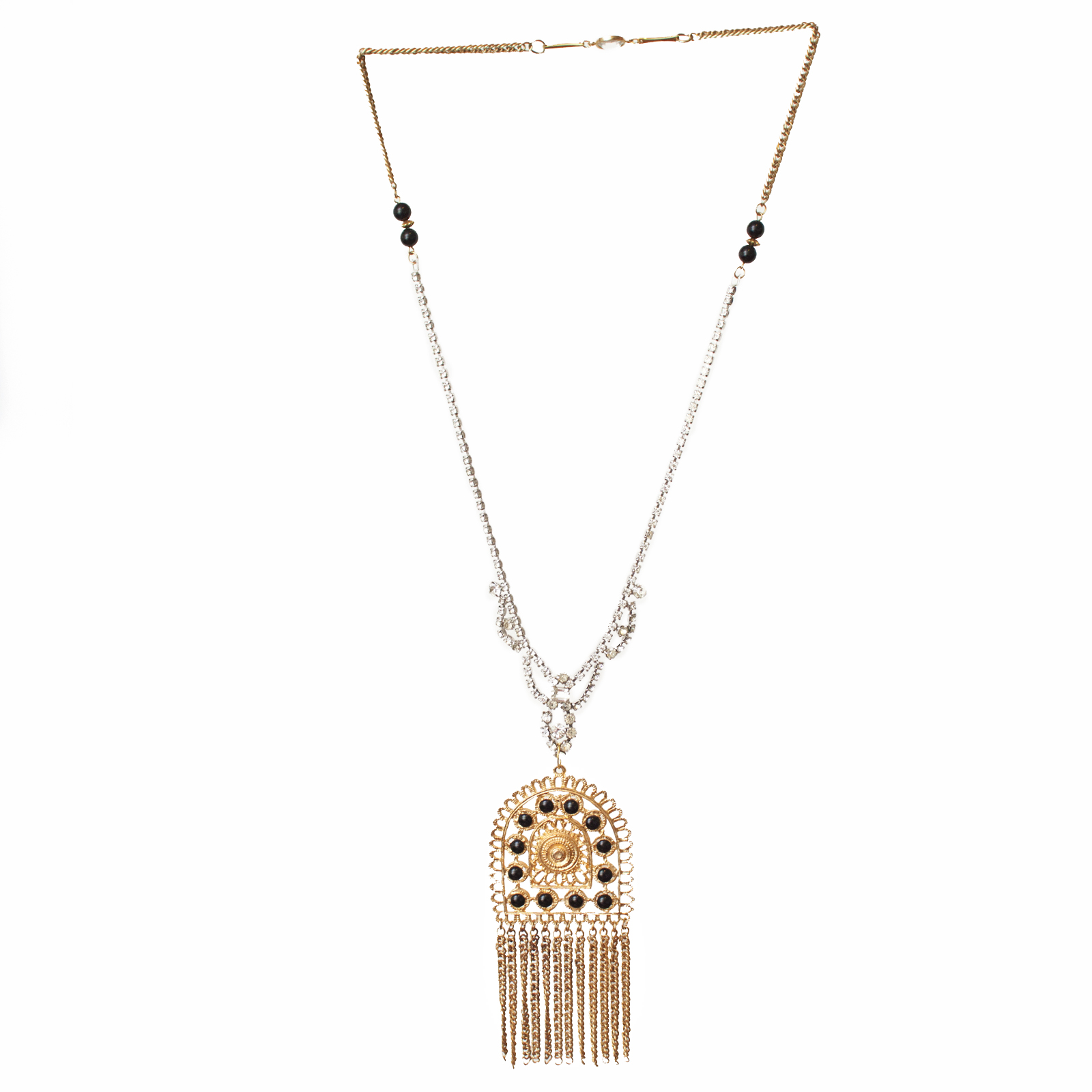 On The Fringe Necklace by Honey Rose & K