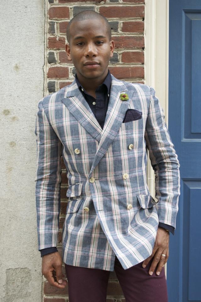 Bold Blazer by Indochino via Men's Style Pro