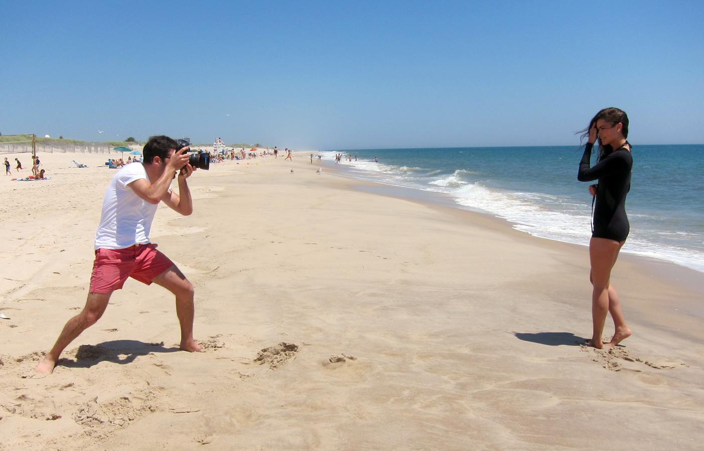 Ben Fink Shapiro shoots Katie Lee
