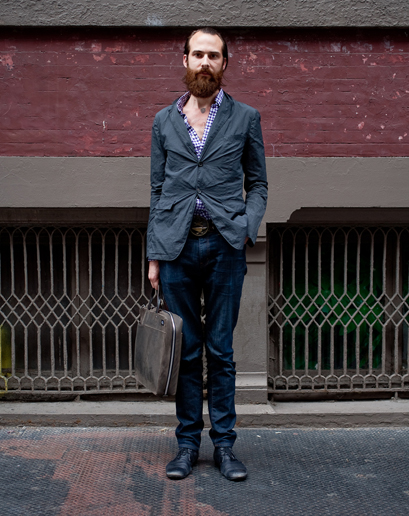 Fashion for Matt Miller: Beard Edition