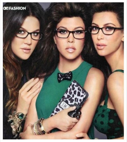 New Kardashian Optical Ad