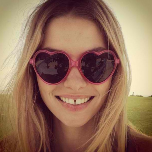 Heart-shaped sunnies