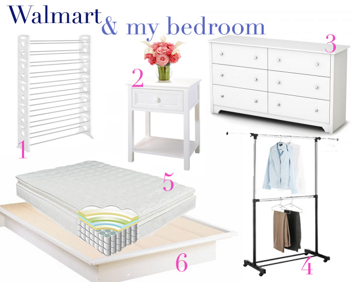 Pin Attire Mondays: Walmart Bedroom Discoveries