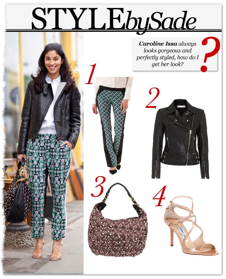 Style By Sade Fashion Editor Caroline Issa 39 S Stylecaster