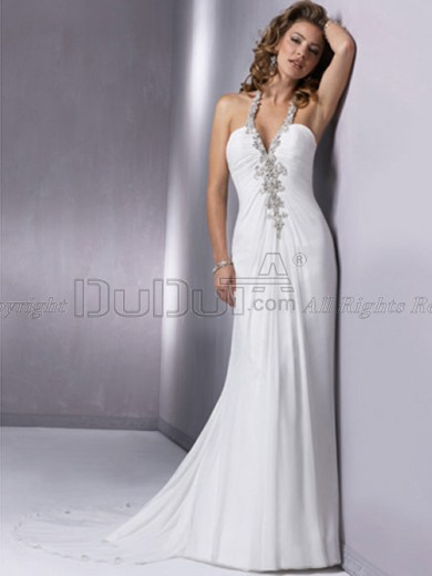 Free Shipping Wedding Dresses With Beading