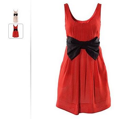 Red Polka Dot Dress Women