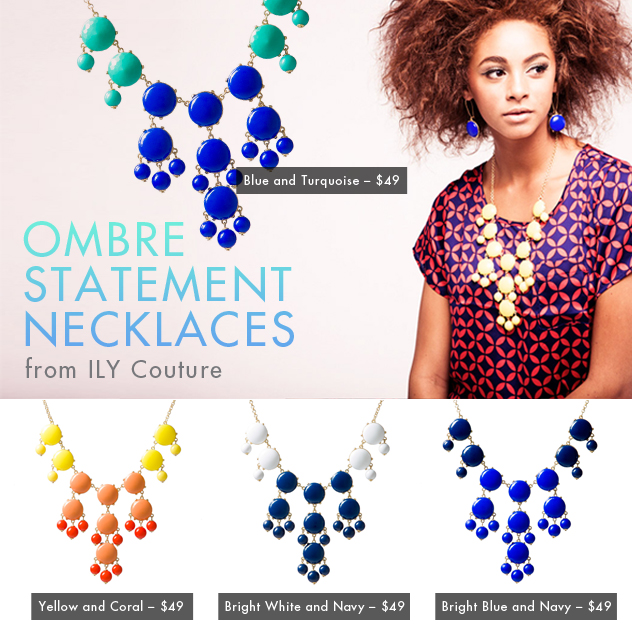 Ombre Bauble Love Affair | ILY Couture Embodies Multi-Faceted Chic