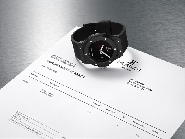 The A-List: Hublot Atelier Courtesy Watch