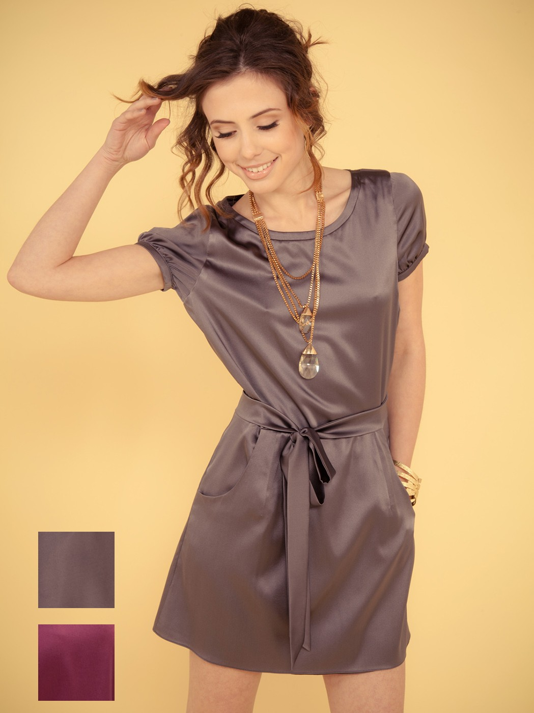 Shirt Dress, by Minsstyle Approved Designer, Edita Collection.
