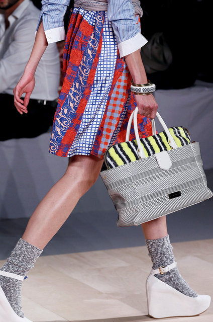 stylonylon: Marc By Marc Jacobs SS13 - Socks & Sandals, Scarves, Bangles an
