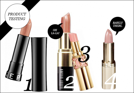 Product Testing: Top 5 Classic Nude Lipsticks