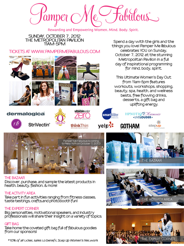 In NYC on Sunday? Pamper Yourself! | Style Defined NYC