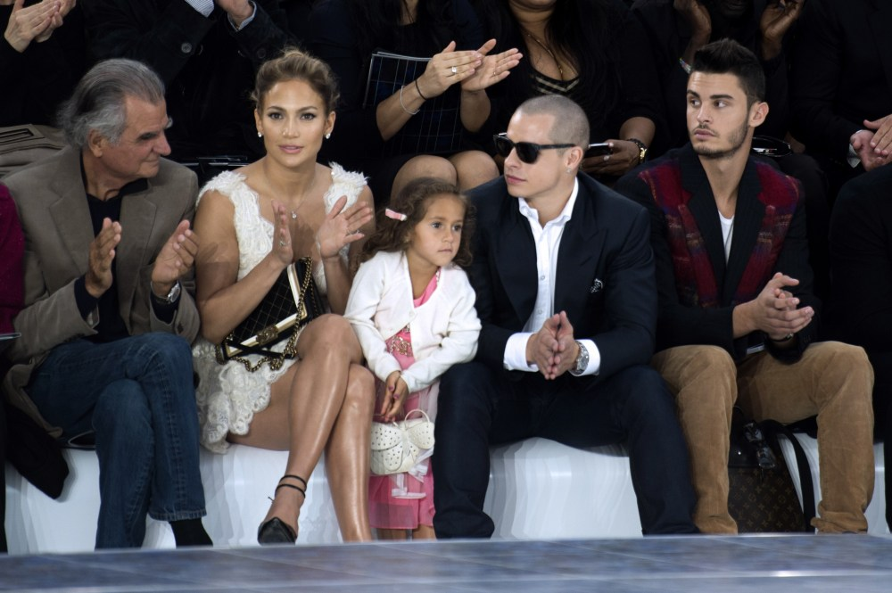 Move Over Suri Cruise: Jennifer Lopez's Daughter Emme Carries Chanel, Sits Front Row