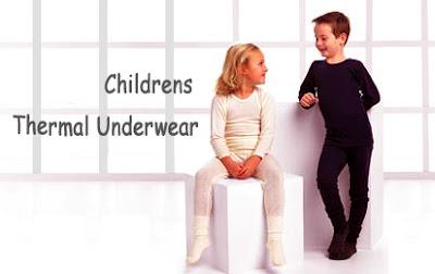 Thermal Underwear Children