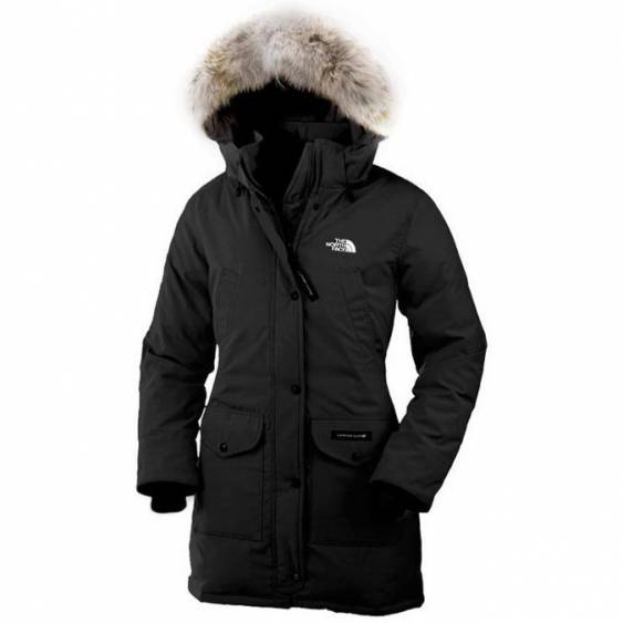 North Face Women s Trillium Parka Coats For Cheap Black North Face