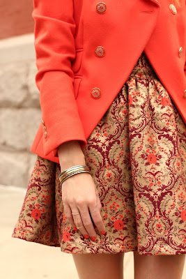 Must Have Prints for Fall: Brocade x Tapestry