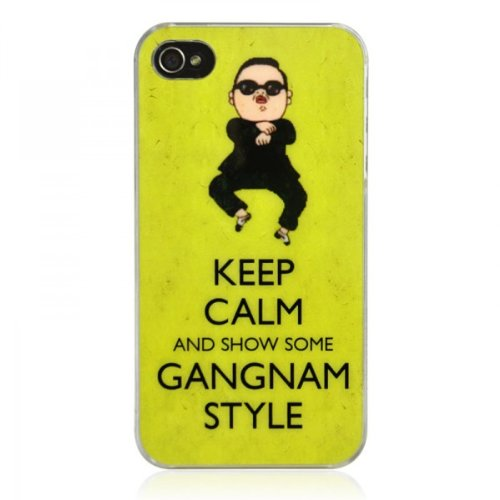 Keep Calm And Show Some Gangnam Style iPhone 4 / 4S Print Case
