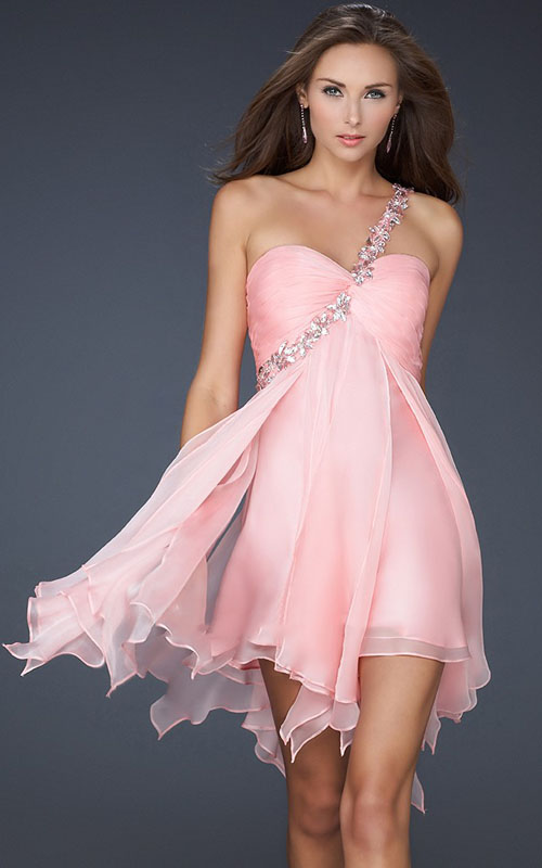 Similiar Pink Cocktail Evening Dresses Keywords