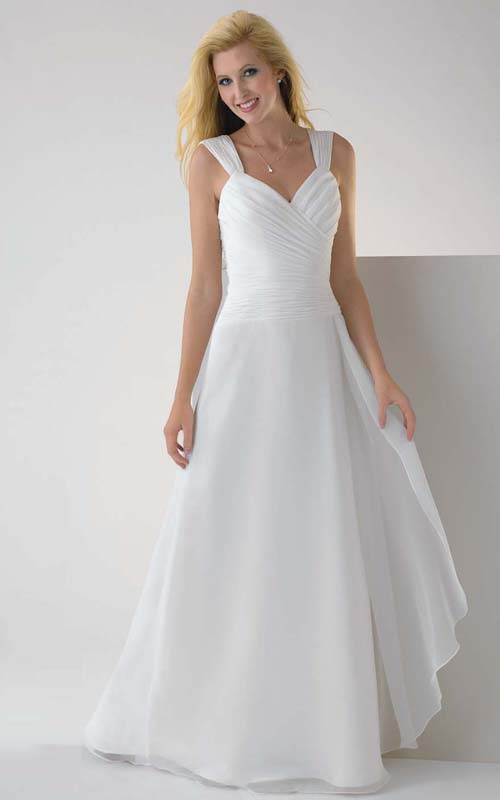 Graduation Dresses Long White - Holiday Dresses