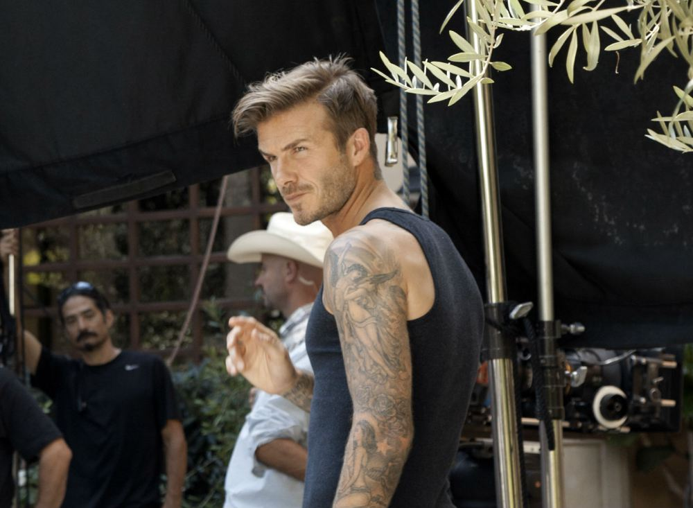 First Look: H&M's New Bodywear Campaign Starring David Beckham and Directed by Guy Ritchie