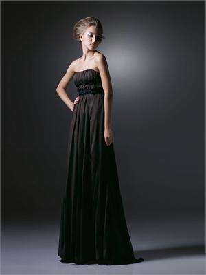 Straight neckline prom dresses