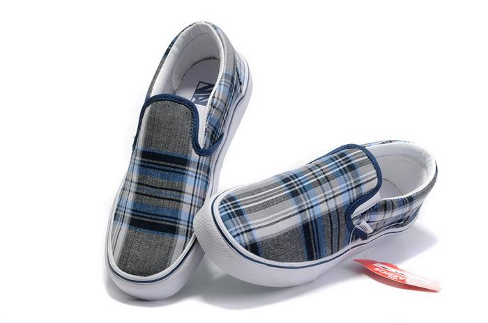 mens vans classics norwich plaid slip on shoes