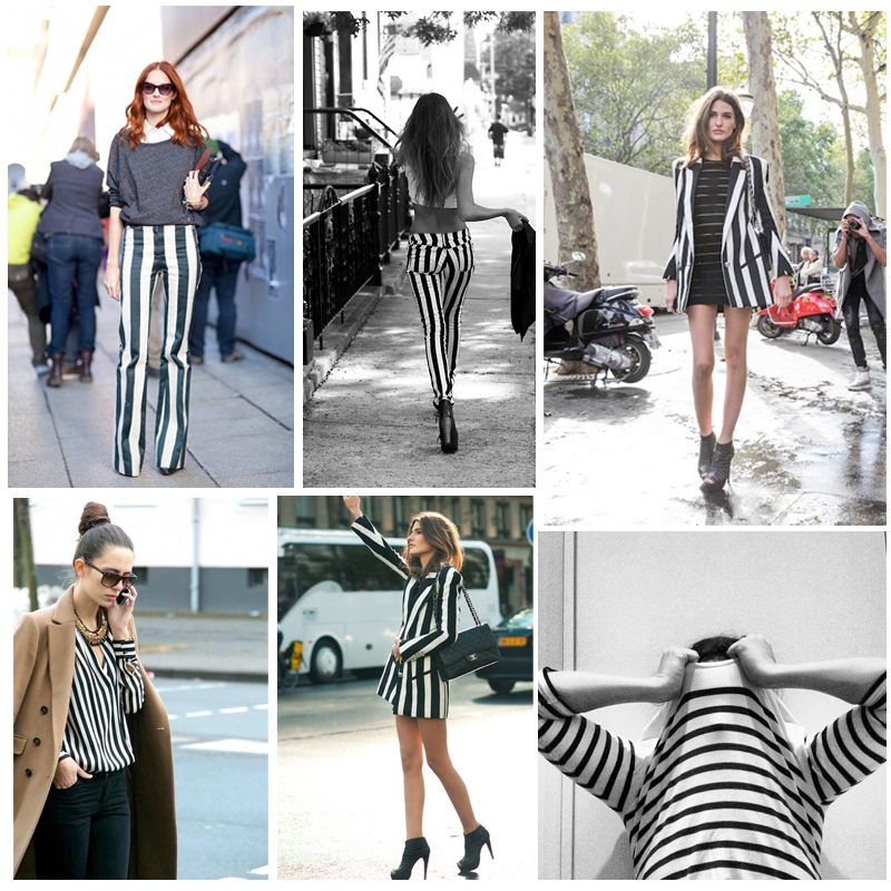 Inspiration: Black and White Stripes