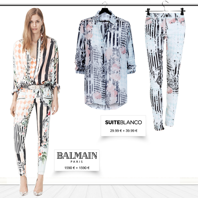 Get the Balmain Resort 2013 collection look .... for less !