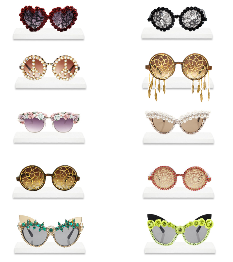 Buy Statement Handmade sunglasses worn by Lady Gaga, Rihanna, Katy Perry...