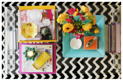 on dressing your coffee table