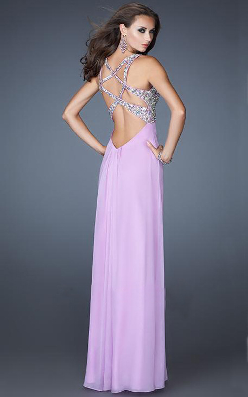 Lavendar Prom Dresses 107