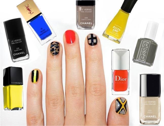 sorelle in style: NYFW nail art