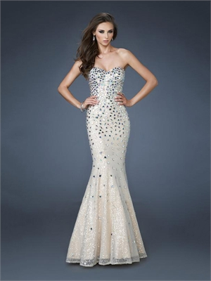 Evening Dress Sale on Diamond Tulle Prom Dress Pd11411 For Sale  We Have More Dresses
