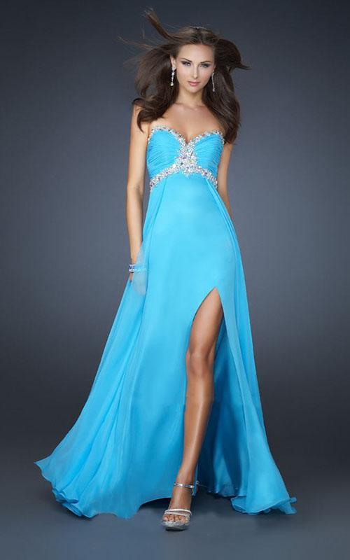 Long Strapless Prom Dresses - Formal Dresses