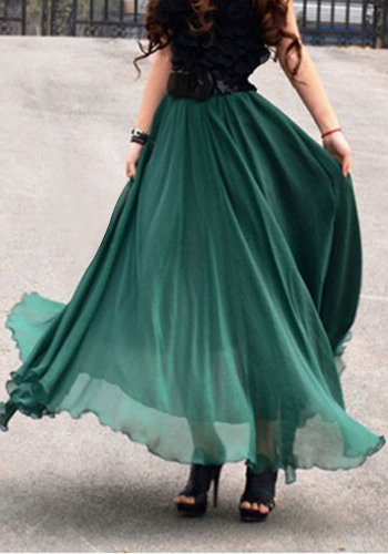 Long Full Skirt - Dress Ala