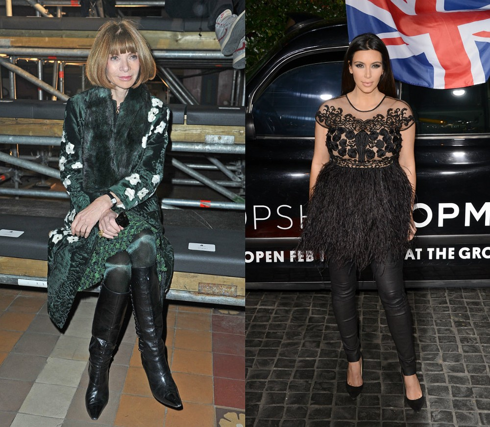 Report: Anna Wintour Thinks Kim Kardashian Is 'The Worst Thing Since Socks And Sandals'