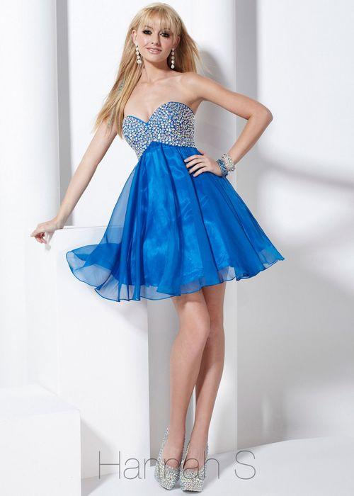blue strapless sequin prom dresses 2013 hanna s