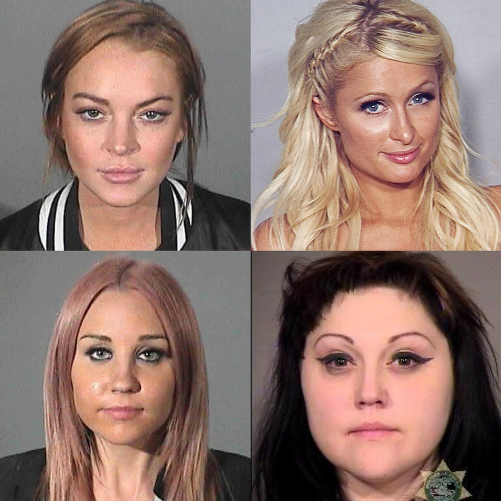 How to Take a Stylish Mug Shot, With Examples from Lindsay Lohan, Paris Hilton, More