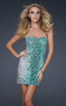 Sequin Cocktail Dress on Sweetheart Sparkly Cocktail Dress Green Sequined Cocktail Dres Jpg